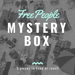 Free People 5 Piece Mystery Resell Box